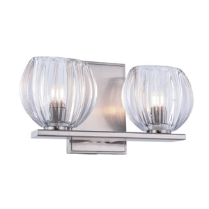 Monticello 11 Wall Sconce With 2 Lights - Burnished Nickel Finish Wall Sconce