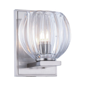 Monticello 5 Wall Sconce With 1 Light - Burnished Nickel Finish Wall Sconce