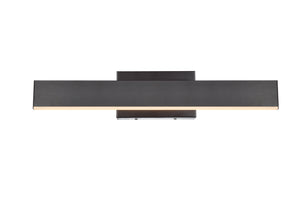 Kirra Collection Wall lamp with LED Lights - Brown Finish