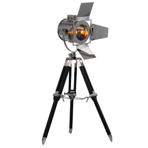 Ansel 16 Tripod Floor Lamp - Chrome Finish Floor Lamp