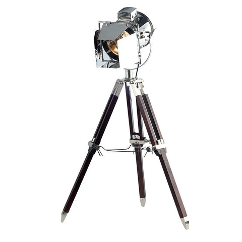 Ansel 32 Tripod Floor Lamp - Chrome Finish Floor Lamp