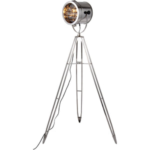 Ansel Tripod 61 Floor Lamp With 1 Light - Chrome Finish Floor Lamp