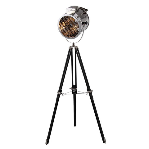 Ansel 67 Tripod Floor Lamp - Chrome Finish Floor Lamp