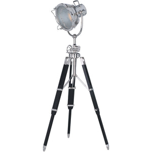 Ansel Tripod 89 Floor Lamp With 1 Light - Chrome Finish Floor Lamp