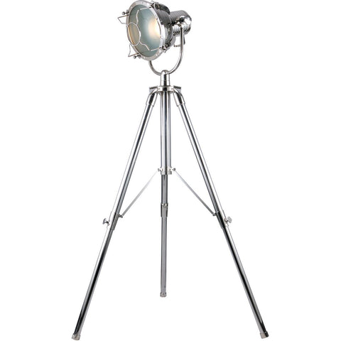 Ansel Tripod 79 Floor Lamp With 1 Light - Chrome Finish Floor Lamp