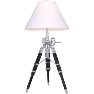 Ansel Tripod 36 Floor Lamp With 1 Light - Chrome Finish Floor Lamp