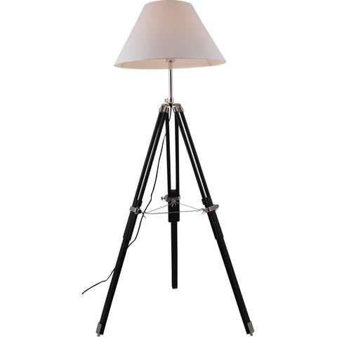 Ansel Tripod 63 Floor Lamp With 1 Light - Chrome Finish Floor Lamp