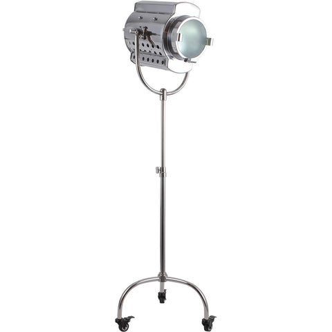 Ansel Tripod 64 Floor Lamp With 1 Light - Chrome Finish Floor Lamp