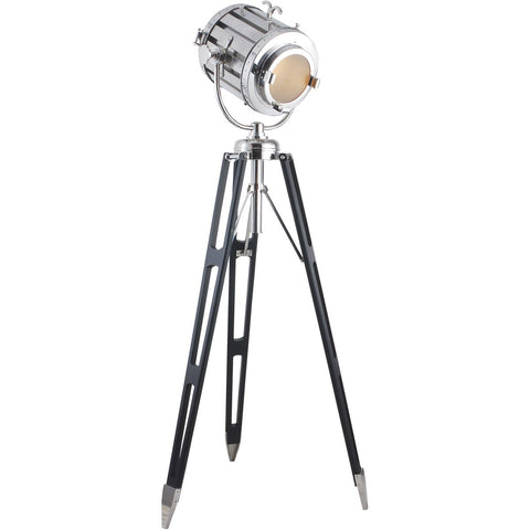 Ansel Tripod 71 Floor Lamp With 1 Light - Chrome Finish Floor Lamp
