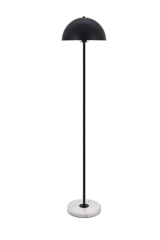 "13.8"" Forte Floor Lamp with 1 light - Black Finish"