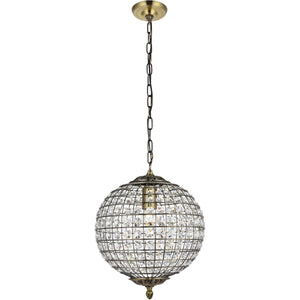 Earlene 12 Pendant With 1 Light - Antique Bronze Finish Pendant