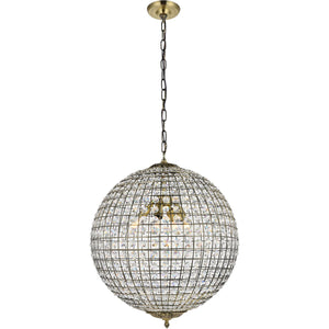 Earlene 20 Pendant With 4 Lights - Antique Bronze Finish Pendant