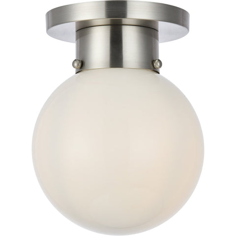 Gael 8 Flush Mount With 1 Light - Burnished Nickel Finish Flush Mount