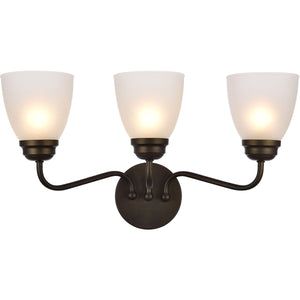Bale 22 Wall Sconce With 3 Lights - Oil Rubbed Bronze Finish Wall Sconce