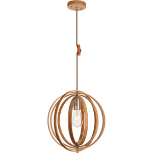 Stanton 14.8 Pendant With 1 Light - Wood Grain Finish Pendant
