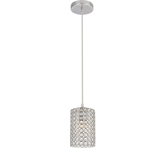 Celestia 4.7 Pendant With 1 Light - Chrome Finish Pendant
