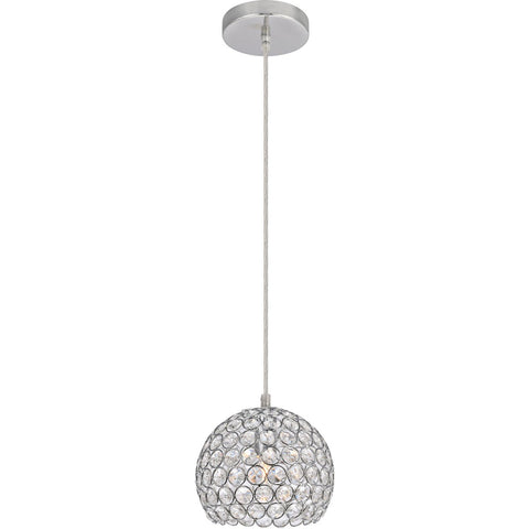 Celestia 7.1 Pendant With 1 Light - Chrome Finish Pendant