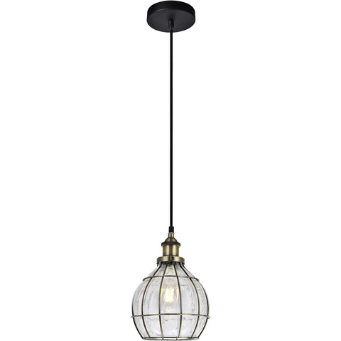 Noely 7.3 Pendant With 1 Light - Antique Bronze Finish Pendant
