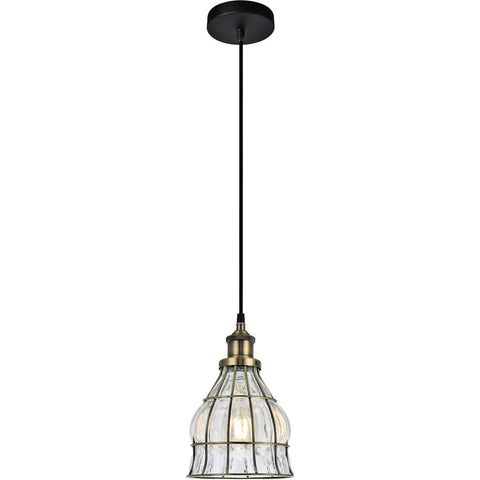Noely 6.6 Pendant With 1 Light - Antique Bronze Finish Pendant