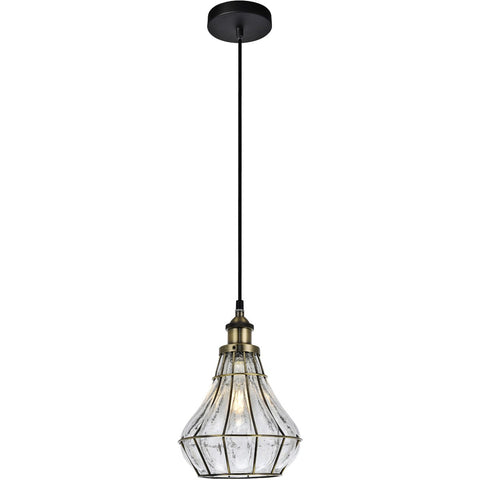 Noely 7.9 Pendant With 1 Light - Antique Bronze Finish Pendant