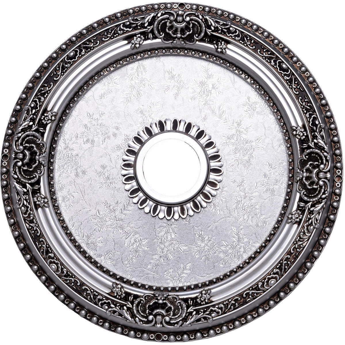 24 Ceiling Medallion - Pewter Finish (Md102D24Pw) Medallion