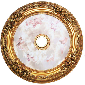 35 Ceiling Medallion - French Gold Finish (Md110D35Fg) Medallion