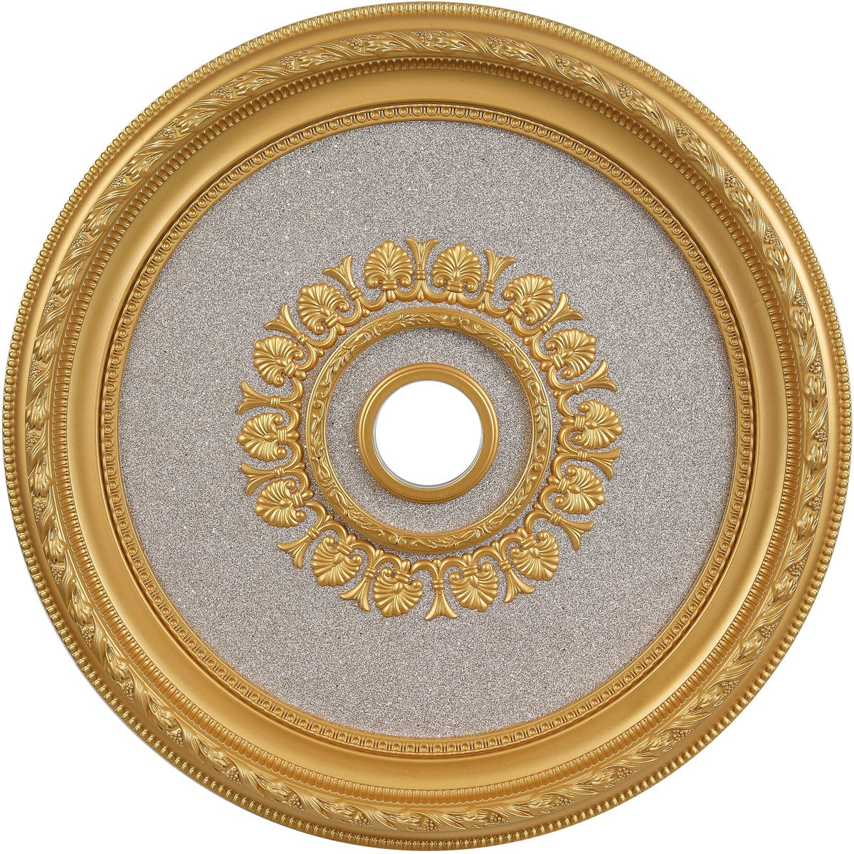 32 Ceiling Medallion - Gold Finish (Md204D32G) Medallion