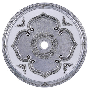 43 Ceiling Medallion - Pewter Finish (Md206D43Pw) Medallion