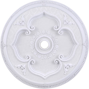 43 Ceiling Medallion - White Finish (Md207D43Wh) Medallion