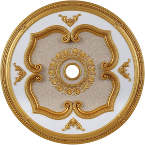 43 Ceiling Medallion - Gold Finish (Md208D43G) Medallion
