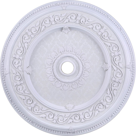 43 Ceiling Medallion - White Finish (Md211D43Wh) Medallion