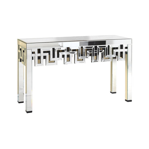 Florentine 56 X 34 Console Table - Antique Silver Leaf Finish (Mf-3003C) Console Table