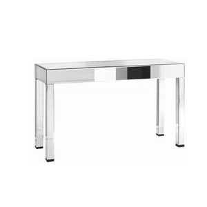 Florentine 56 X 34 Console Table - Antique Silver Leaf Finish (Mf-3016C) Console Table