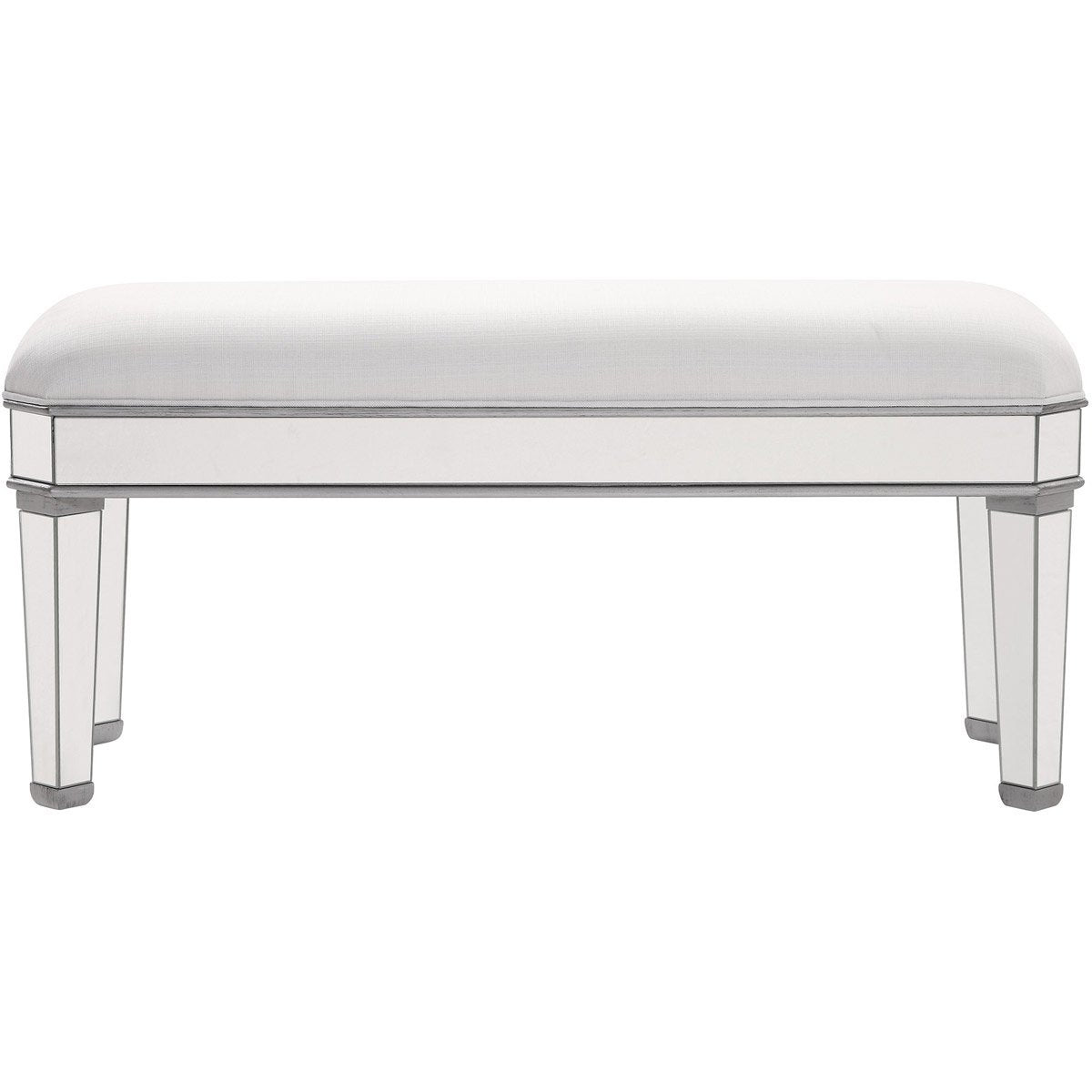 Contempo 44 X 21 Bench - Antique Silver Finish (Mf6-1012S) Bench
