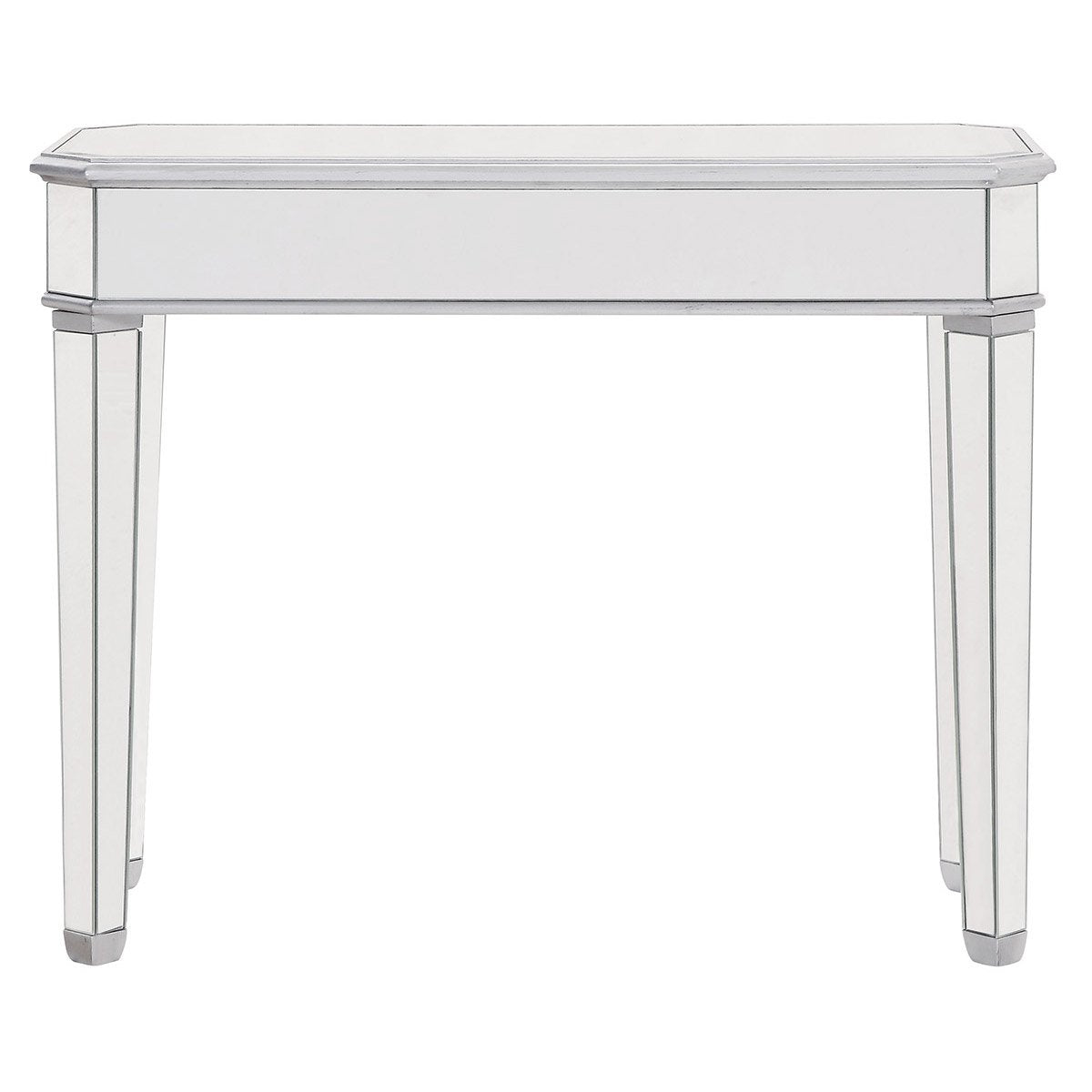 Contempo 41 X 32 Rectangle Table - Antique Silver Finish (Mf6-1025S) Rectangle Table