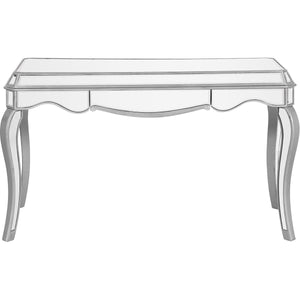 Contempo 52 X 31 1 Drawer Console Table - Antique Silver Finish (Mf6-1027S) Console Table