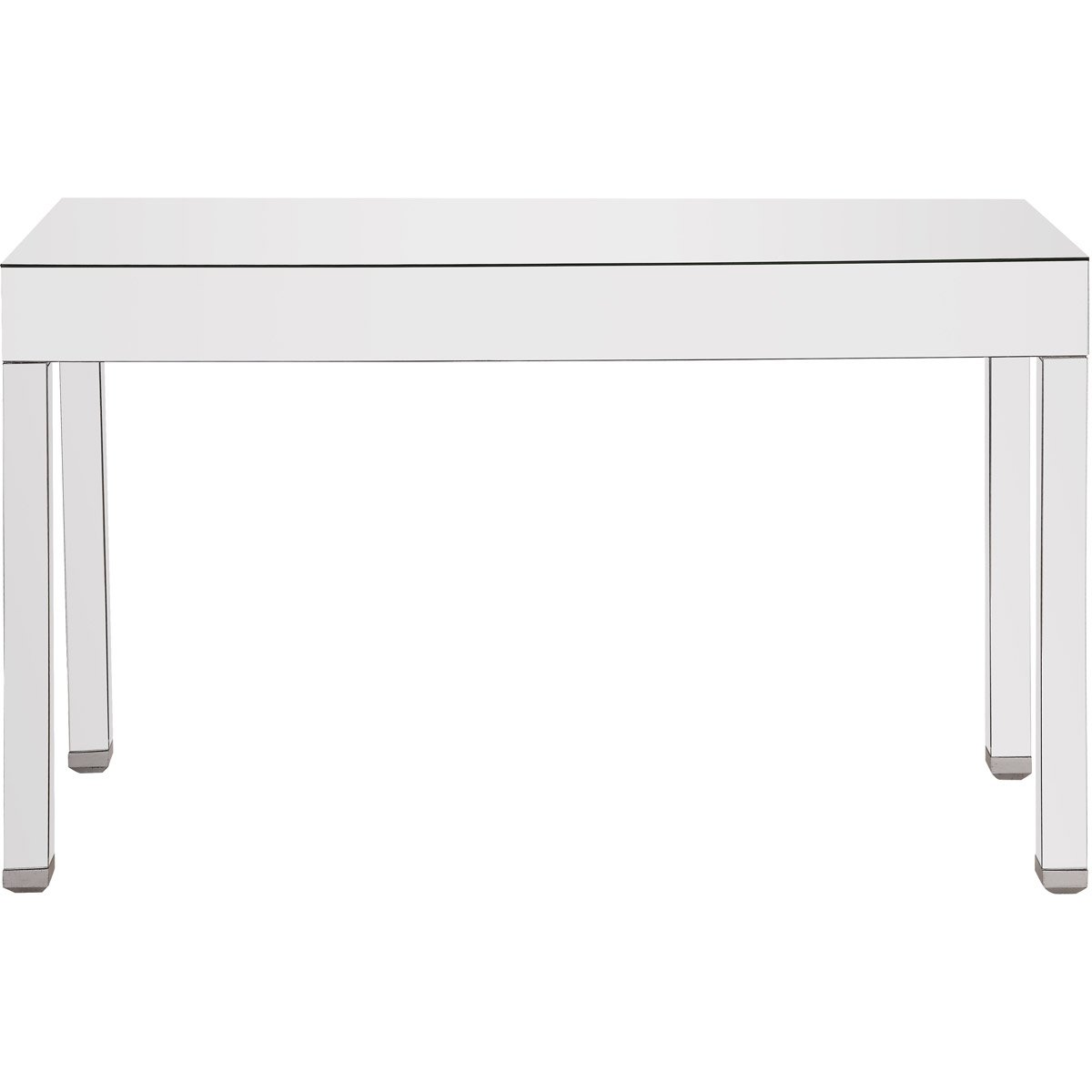 Contempo 56 X 34 Rectangle Table - Antique Silver Finish (Mf6-1031) Rectangle Table