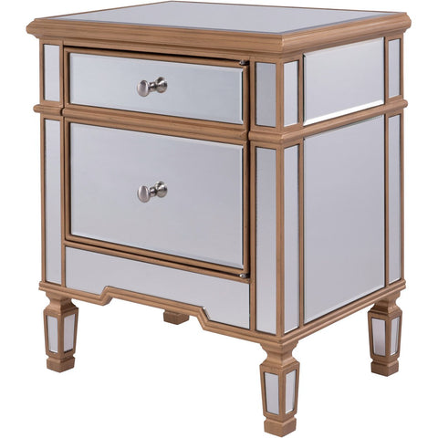 Contempo 24 X 27 1 Door Cabinet -Antique Gold Finish (Mf6-1116G) Cabinet
