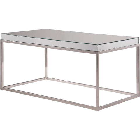 Contempo 42 X 19 Coffee Table - Clear Finish (Mf6-3001) Coffee Table