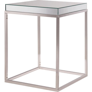 Contempo 20 X 25 Lamp Table - Clear Finish (Mf6-3002) Lamp Table