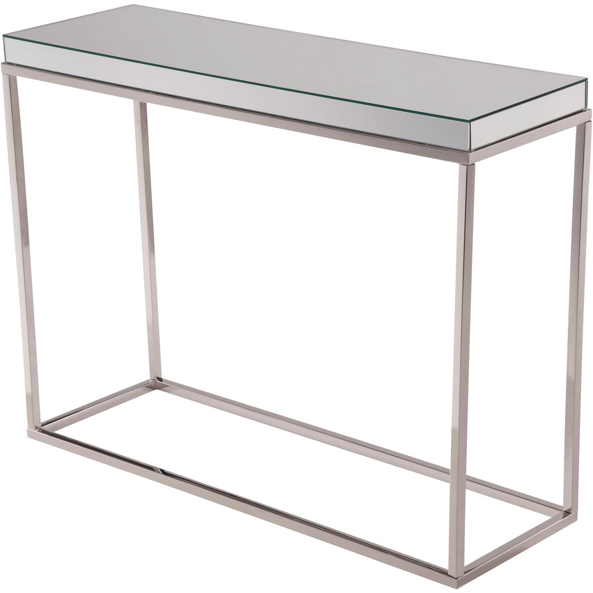 Contempo 42 X 32 Console Table - Clear Finish (Mf6-3003) Console Table