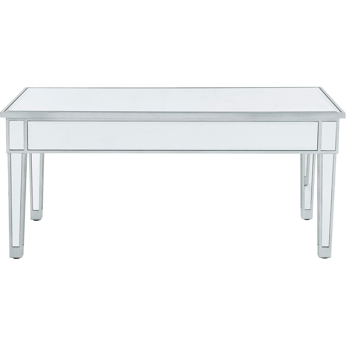 Reflexion 40 X 18 Coffee Table - Antique Silver Finish (Mf72021) Coffee Table