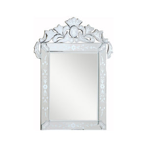 Venetian 39 X 51 Transitional Mirror - Clear Finish (Mr-2015C) Mirror