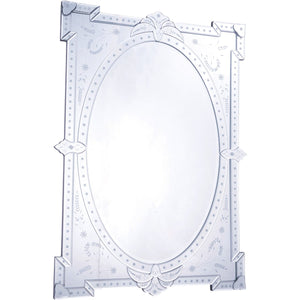 Venetian 29 X 40.75 Transitional Mirror - Clear Finish (Mr-2033) Mirror