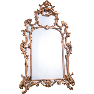 Antique 28.75 X 48 Traditional Mirror - Antique Gold Leaf Finish (Mr-2042) Mirror