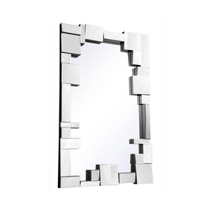 Modern 49.75 X 31.5 Contemporary Mirror - Clear Finish (Mr-3192) Mirror