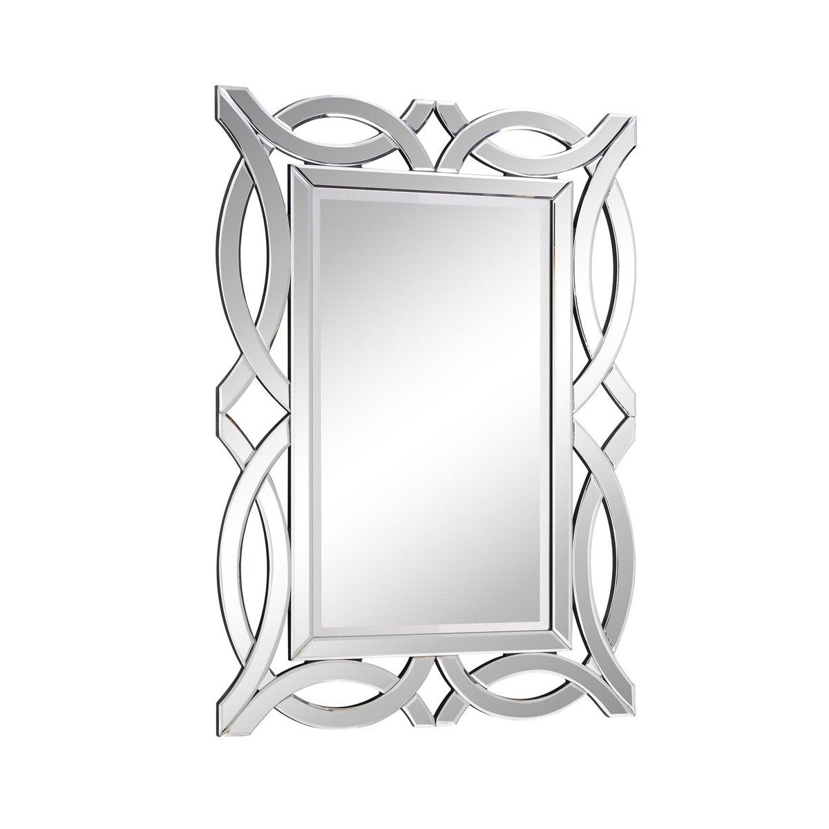 Modern 28 X 40 Contemporary Mirror - Clear Finish (Mr-3347) Mirror
