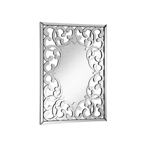Modern 31.5 X 44 Contemporary Mirror - Clear Finish (Mr-4005) Mirror