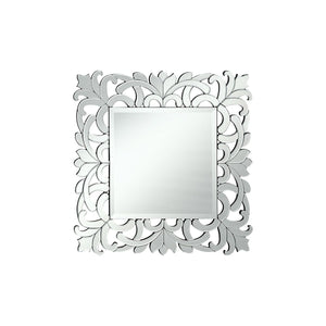 Modern 32 X 32 Contemporary Mirror - Clear Finish (Mr-4012) Mirror