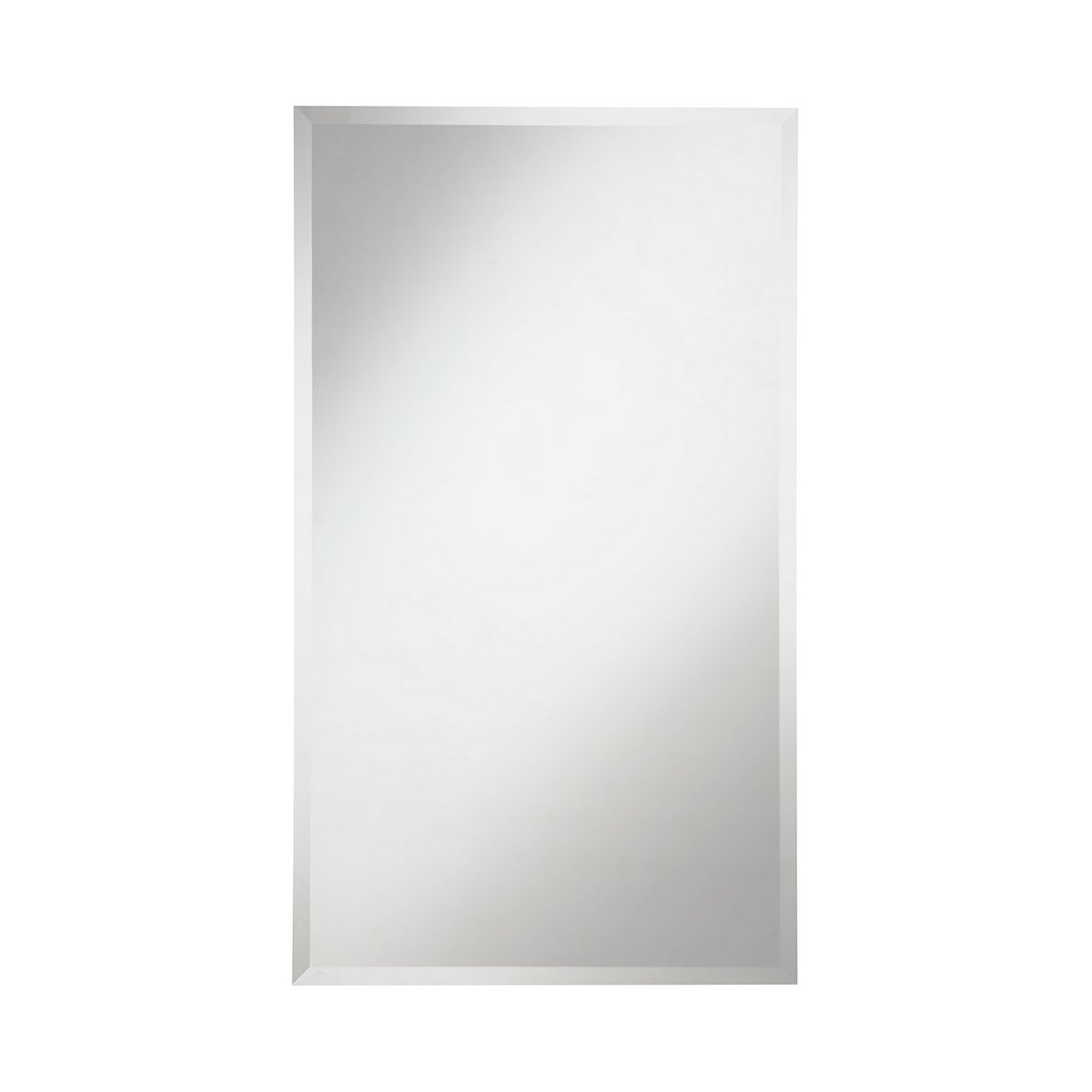 Modern 22 X 38 Contemporary Mirror - Clear Finish (Mr-4020) Mirror